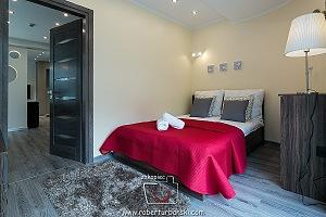 Apartament IVO w Zakopanem - sypialnia
