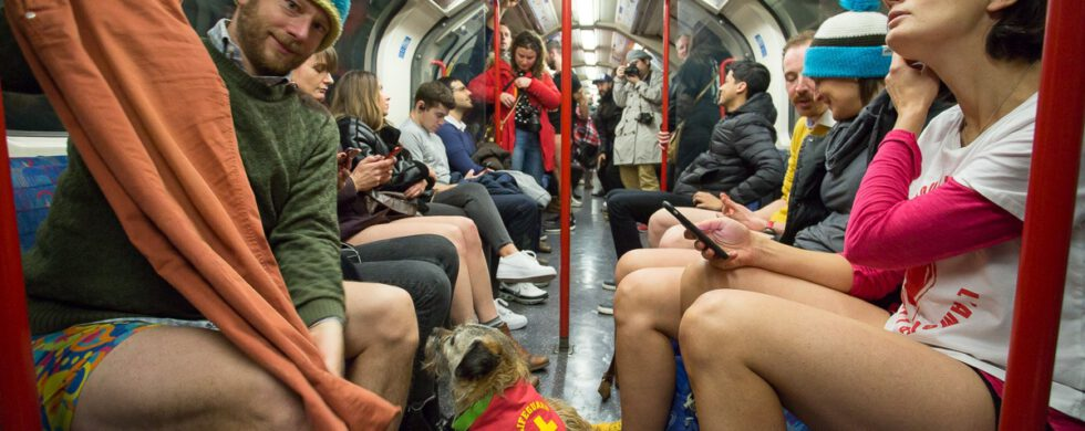 No Trousers The Tube Ride - London 2020